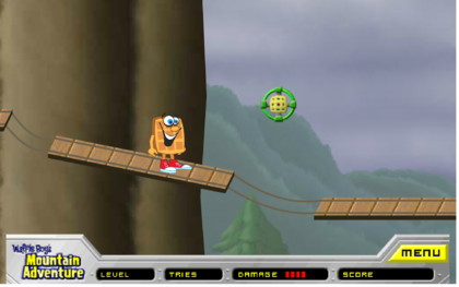 Waffle Boys Mountain Adventure Partially Found Online Flash Game