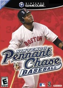 Cover art to the game, featuring the Boston Red Sox's David Ortiz.