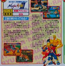 Promotional flyer of the game