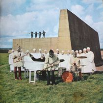 The Beatles, in a promotional image from the Magical Mystery Tour era.