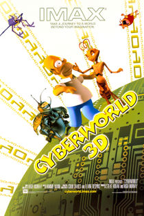 The poster for CyberWorld.